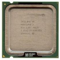 Pentium D820, 2.8ghz X2, 2mb Cachê, 800mhz Lga 775 Dual Core