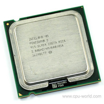 Dual Core D 915 2.80ghz 800 Mhz 4 Mb Socket 775