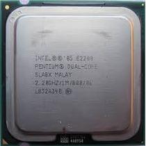 Intel Dual Core E2200 2.20ghz 1m 800mhz Socket 775 Sla8x