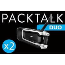 Intercomunicador Scala Rider Packtalk Duo (o Par)