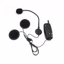 Intercomunicador Moto Capacete Bluetooth, 500m, Unitário