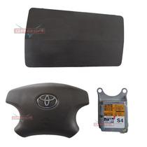 Kit Air Bag Modulo Bolsa D Painel Beg Toyota Hilux Sw4 06 08