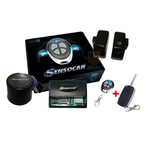 Alarme Automotivo Sensocar Hdn Modelo Novo + Chave Canivete