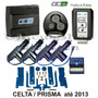 Alarme Carro Olimpus Easy 2 Controles+trava Celta Prisma 4p