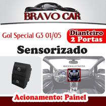 Kit Vidro Elétrico Gol G3 Special 2 Portas Sensorizado