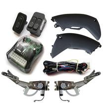 Kit Vidro Elétrico Novo Corsa Sedan Hatch Montana Sensorizad