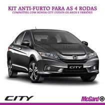 Kit Anti-furto Mcgard P/ Rodas Originais Honda City - 24157