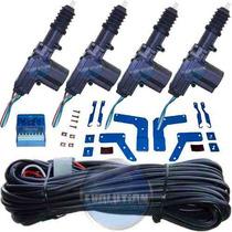 Celta 4 Portas: Travas Elétricas Já Com Suportes Específicos