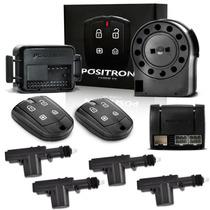 Alarme Positron Fx300 + Trava Eletrica + Modulo Vidro 4 Pts