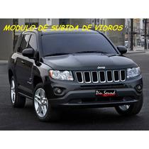 Modulo Subida De Vidros Jeep Compass 2012 Kit Conforto