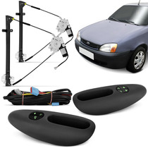 Kit Vidro Eletrico Fiesta Ford Ka Courrier 1993 2011 Simples