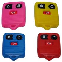 Capa Controle Do Ford 3 Botões Colorida