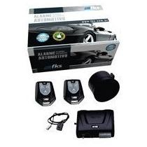 Alarme Automotivo Fks Fk702 Universal Com 2 Controles Cr940
