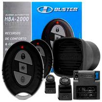 Alarme Automotivo Hbuster Hba 2000 C/ Bloqueio Do Motor