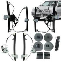 Kit Vidro Elétrico Gol G4 4 Portas Completo