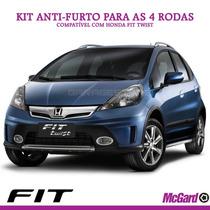 Kit Anti-furto Mcgard P/ Rodas Originais Honda Fit Twist