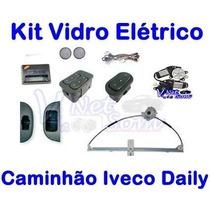 Kit Vidro Eletrico Caminhão Fiat Iveco Daily À Partir 2008