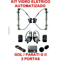 Kit Vidro Eletrico Gol G2 Parati G2 -2 Portas-automatizado