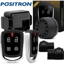 Alarme Positron Cyber Px 330 2015 Cromado + Sensor Presença