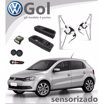 Kit Vidro Elétrico Sensorizado Gol 2015 G6 4pt P/dianteiras
