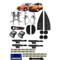 Kit Vidro Eletrico Corsa Classic 4 Portas Completo + Travas