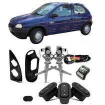 Kit Vidro Elétrico Corsa Wind Pick Up Sensorizado 2 Portas