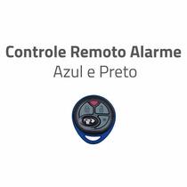 Controle Remoto Alarme Positron Px27 Original Azul E Preto
