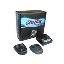 Alarme Automotivo Sonar Com 2 Controles Remoto Kit Completo