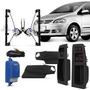 Kit Vidro Eletrico Fox 03 A 09 Sensorizado 4 Porta Dianteira