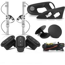 Kit Vidro Elétrico Corsa Wind 2 Portas Sensorizado+trava