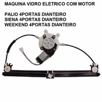 Maquina Vidro Eletrico Com Motor Palio / Siena / Weekend