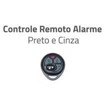 Controle Remoto Alarme Positron Px27 Original Preto Cinza
