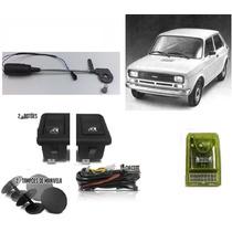Kit Vidro Eletrico Fiat 147 C/ Modulo Inteligente