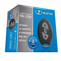 Alarme Automotivo Hbuster Hba-2000 Com 1 Controle