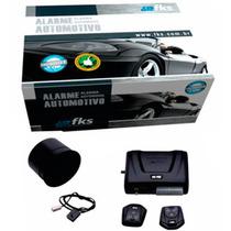 Alarme Automotivo Fks Fk702 Universal Com 2 Controles
