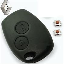 Capa Chave Telecomando Renault Sandero Logan + Botões