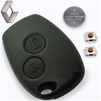 Capa Controle Telecomando Alarme Chave Logan E Sandero