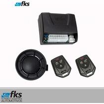 Alarme Universal Automotivo Fk902 Plus C/sirene E 2 Controle