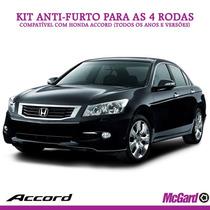 Kit Anti-furto Mcgard 24157 P/ Rodas Originais Honda Accord