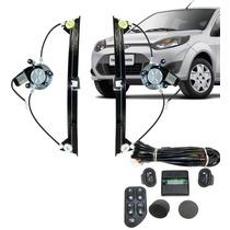 Kit Vidro Eletrico Fiesta Amazon 4 Portas Traseiro