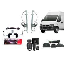 Kit Vidro Elétrico Fiat Ducato + Trava + Alarme Pósitron