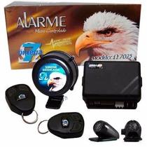Alarme Automotivo Omega7 7025+ Kit Travas Universal 4 Portas