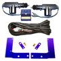 Kit Trava Elétrica Corsa 2 Portas 1998 + Suportes De Fixação