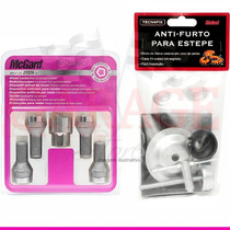 Kit Anti-furto Mcgard P/ Rodas E Estepe- Fiat Stilo
