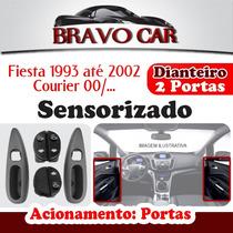 Kit Vidro Eletrico Fiesta 93 A 02 2 Portas Courier Sensoriz