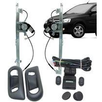 Kit Vidro Eletrico Novo Corsa 4 Portas Traseiro