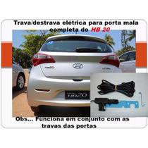 Kit Trava / Destrava De Porta Malas Hb20 4 Portas