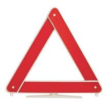 Triângulo Segurança Branco Universal Emergência Carro