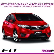 Kit Anti-furto Mcgard P/ Rodas E Estepe - Honda Fit 2015+