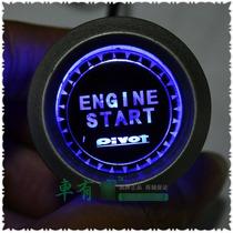 Car Engine Start Botão Interruptor De Ignição Para Inicia
